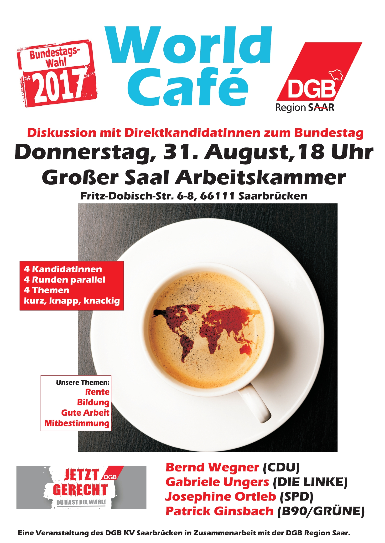 Plakat World Café