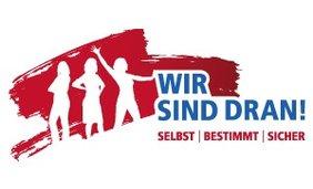 Logo Wir sind dran Bundesfrauenkonferenz Selbst bestimmt leben