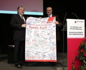 Kurt Beck und Dietmar Muscheid