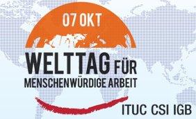 Logo WDDW Welttag für menschemwürdige Arbeit