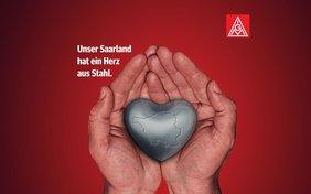 Unser Saarland hat ein Herz aus Stahl