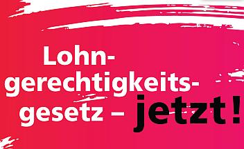 Logo Lohngerechtigkeitsgesetz jetzt