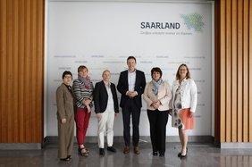 Frauenrat Saarland mit dem Ministerpräsidenten