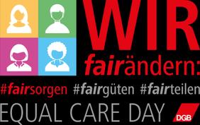 Bild Equal Care Day 2020 fairsorgen