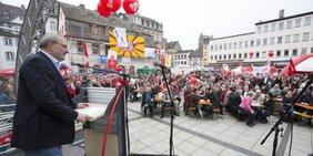 Dietmar Muscheid Rede am 1. Mai in Koblenz