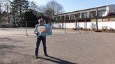 KV Alzey-Worms Schornsheim Grundschule und Gemeindehalle