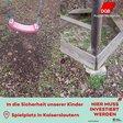 Westpfalz maroder Kinderspielplatz
